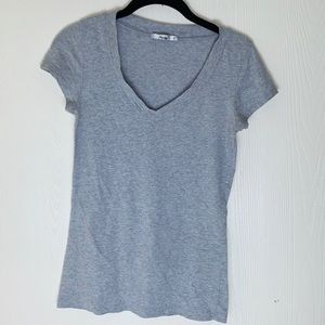 Papaya Plain Grey T-Shirt. Size S